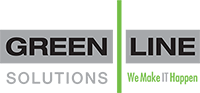Green Line | Cleveland Managed IT Services Logo
